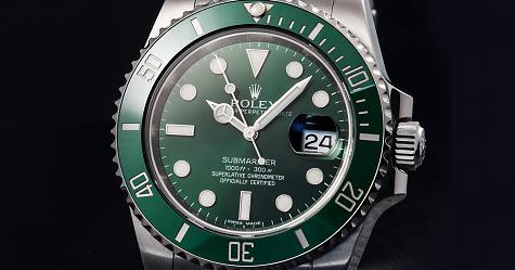 墨綠色的堅強人氣 勞力士綠水鬼Submariner Date 16610