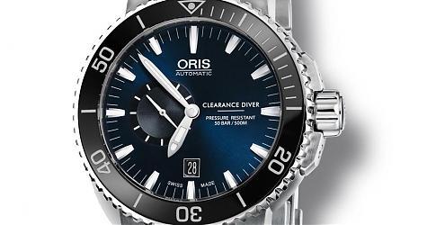 獻給除雷海軍們的ORIS全新潛水錶