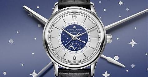 浪漫明月星空!艾美錶新典雅月相錶