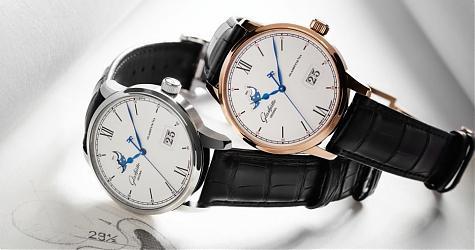 完美的正裝錶 GO議員卓越大日曆月相錶