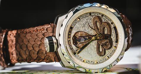 好犀利的眼鏡蛇!BOMBERG全新BOLT-68限量錶