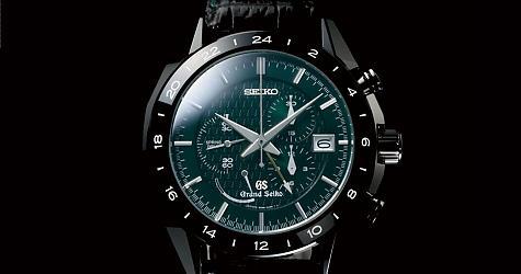 好特別的墨綠!GS新Spring Drive GMT計時錶