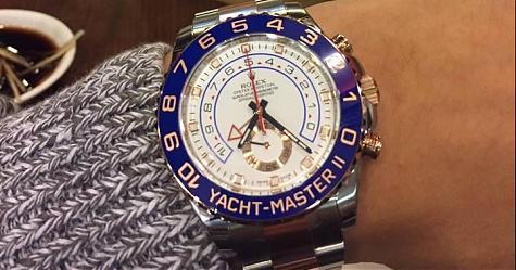 [錶友分享]勞力士最優!餐廳老闆Cyril的Yacht-Master II