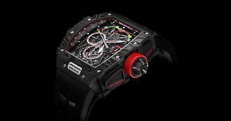 [SIHH 2017]RM 50-03 McLaren F1雙秒追針陀飛輪計時碼錶