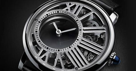 [SIHH 2017]卡地亞Rotonde de Cartier神祕鏤空腕錶