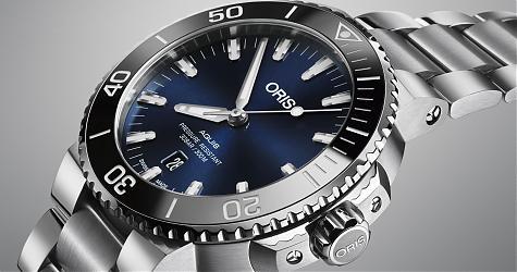 水上水下都絕配!ORIS Aquis日期腕錶