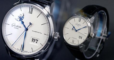 完美正裝錶 格拉蘇蒂議員卓越大日期月相 賞錶