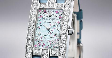 [Pre Basel 2017]海瑞溫斯頓Cherry Blossom腕錶