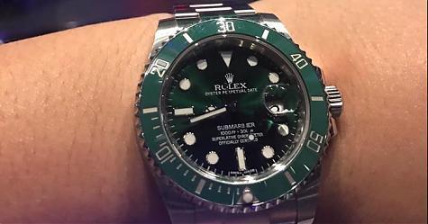 [錶友分享]帥氣調酒師赤木的綠水鬼