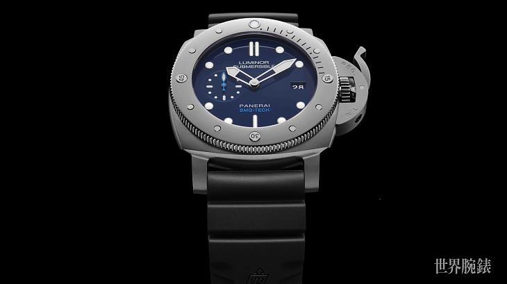 非一般不锈钢潜水表 沛纳海692的BMG-TECH表壳采用