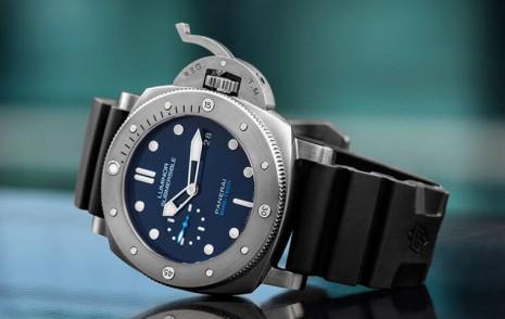 非一般不鏽鋼潛水錶 沛納海692的BMG-TECH錶殼採用的是金屬玻璃或稱液態金屬材質