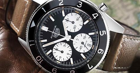 [Basel 2017]豪雅Heuer Autavia計時碼錶