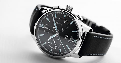 [Basel 2017]活力黑面 格拉蘇蒂原創議員大日期計時碼錶