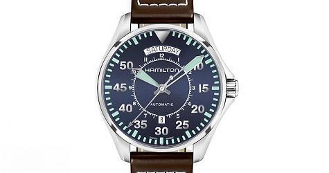 [Basel 2017]不敗藍面現身 漢米爾頓卡其飛行員雙曆錶