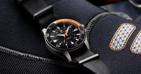 [Basel 2017]活力新錶現 漢米爾頓卡其潛水王腕錶