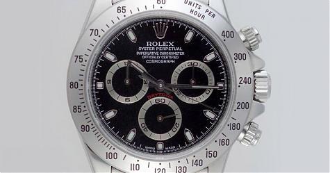 鋼迪號稱最保值的不鏽鋼計時錶王 其中116520黑面特別值得收藏