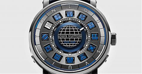玩轉藍色新層次 LV Escale Spin Time Blue