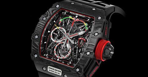 當錶界的F1遇上真正的F1 RICHARD MILLE RM 50-03
