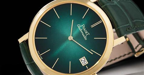 復刻六十週年的精「彩」 伯爵Altiplano腕錶