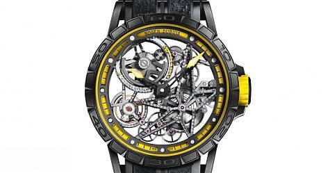 鮮明賽道的激情 RD Excalibur Spider Pirelli鏤空錶