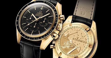 致力襄助推廣學術 OMEGA超霸月球錶專業計時碼錶「霍金科學傳播獎章」特別版