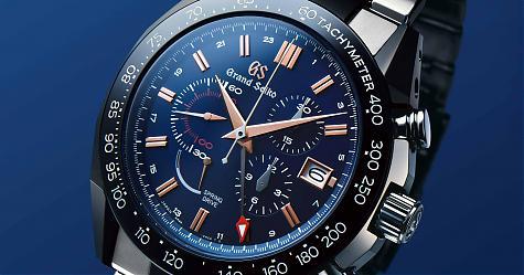 日系血統藍面戰士登場 GRAND SEIKO Spring Drive計時碼錶GMT十週年紀念限量款