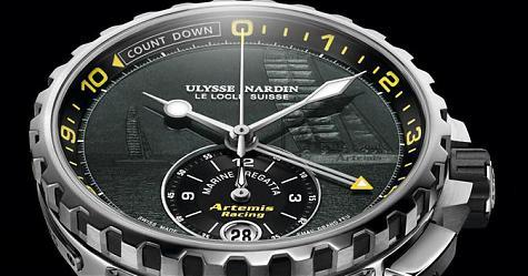 無畏海洋挑戰 雅典錶帆船賽隊計時碼錶