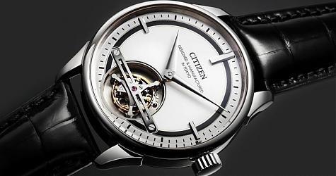 品牌首款陀飞轮诞生!CITIZEN Tourbillon Y01腕表