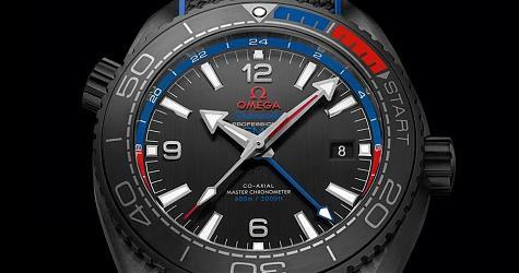 大海中飛揚 OMEGA海馬Planet Ocean特別版腕錶
