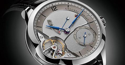 突破製錶極限 GREUBEL FORSEY擺輪腕錶