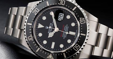 勞力士單紅字海使Sea-Dweller專業潛水錶規格更勝水鬼一籌