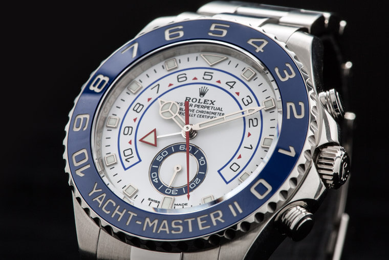 充滿體驗感的複雜功能 ROLEX Oyster Perpetual Yacht-Master II