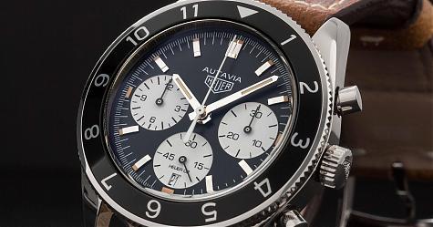 復刻六○年代的經典 泰格豪雅Autavia計時碼錶