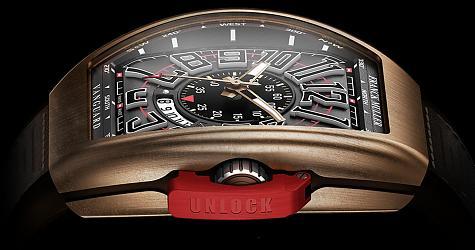 翱翔腕間的戰鬥機!FRANCK MULLER Vanguard青銅錶