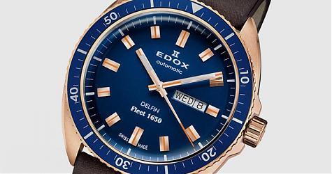 尋回沉船的歷史價值 EDOX Delfin Fleet 1650限量紀念腕錶