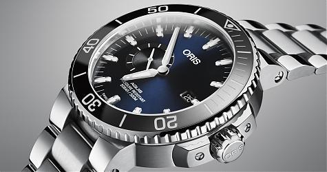 更人性化的設計!ORIS Aquis潛水錶