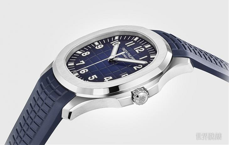 PP百万级运动表 Aquanaut 5168G质感和价格都很百达翡