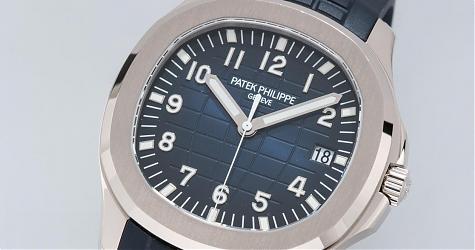 改成白金材質再把錶徑加大 Aquanaut 5168G定位和價格都很百達翡麗