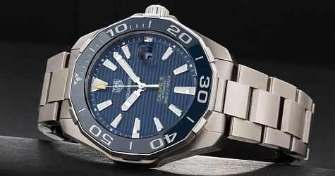 潛水日常佩戴兩相宜 TAG HEUER Aquaracer 300m潛水錶