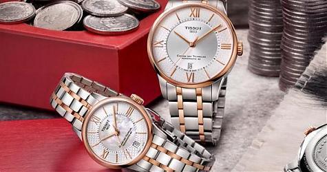 給你滿滿瑞士印象 天梭杜魯爾系列赫爾維希亞女神腕錶