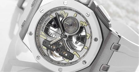 溫文爾雅的技術菁英 愛彼Royal Oak Offshore陀飛輪計時碼錶