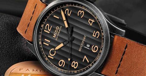 新古典主義 美度 Multifort先鋒系列Escape復刻腕錶Horween特別版