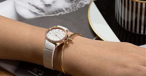 日常優雅小華麗 TIFFANY鑽錶穿搭提案