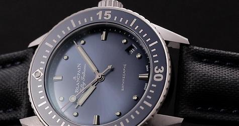 賞錶-一覽海底蔚藍世界 寶鉑Bathyscaphe三針