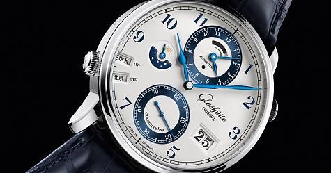 世界時間盡在掌握 格拉蘇蒂原創 議員世界時區腕錶