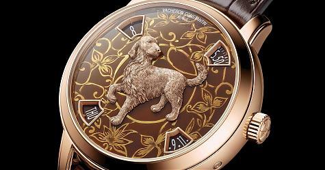 看到它就覺得年味愈來愈近 江詩丹頓 Métiers d'Art藝術大師系列狗年生肖錶