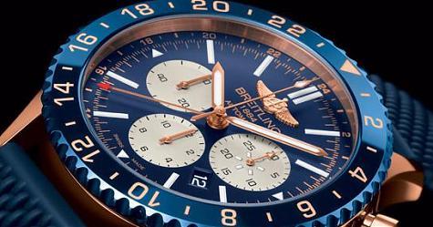 飛行錶中的機長 百年靈Chronoliner B04