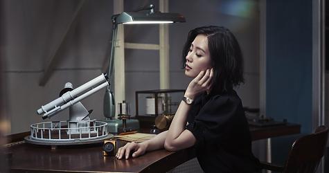 大師天文台女仕腕錶   劉詩詩觀星演繹歐米茄星座系列新品