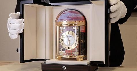 賞錶-台灣也有自己的版本了 百達翡麗Ref.2004M-001座鐘