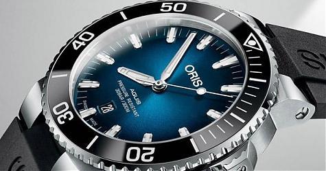 藍色海洋的傳說 ORIS Clipperton限量腕錶